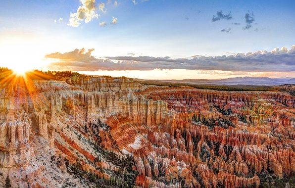Picture USA, USA, Bryce Canyon National Park, State Utah, National Park Bryce Canyon, Utah