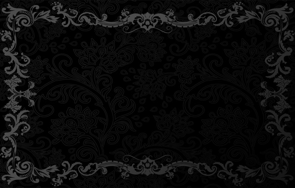 Picture retro, pattern, vector, dark, black, ornament, vintage, texture, vintage, background, pattern, gradient