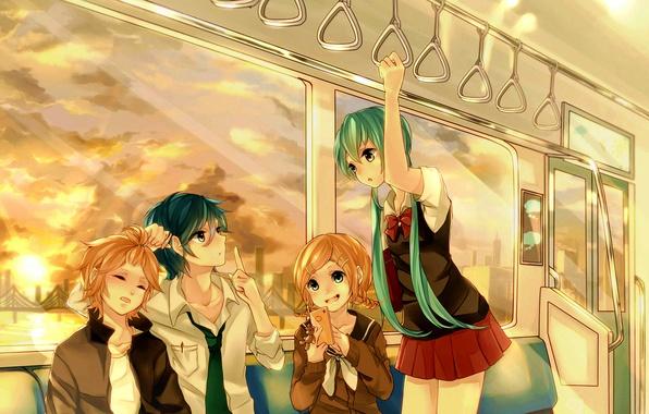 Picture the sky, the sun, clouds, sunset, bridge, girls, train, art, the car, bear, phone, guys, …