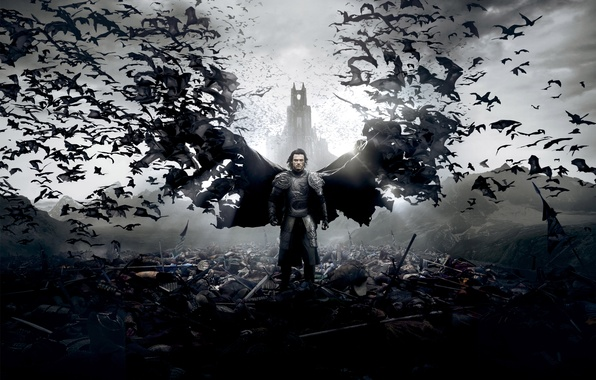Picture Action, Fantasy, Clouds, Sky, Legendary Pictures, Warrior, Palace, Wallpaper, Vampire, Castle, Dead, Horror, Weapon, Man, …