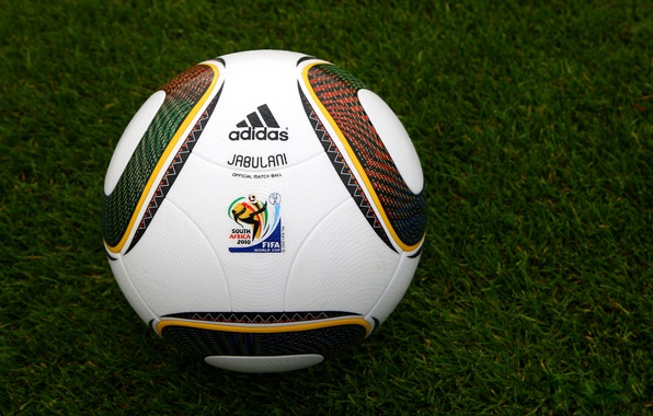 Picture Photo, Grass, The ball, World, 2010, Lawn, Africa, Cup, Fifa, Jabulani, South
