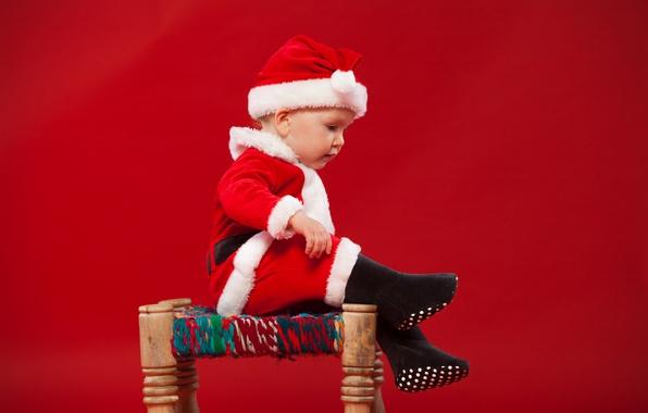 wallpaper child  baby  christmas  costume  new year