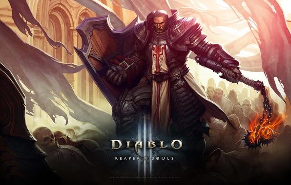 Picture Blizzard, Paladin, Knight, Diablo III, Game, Crusader, Reaper, Reaper of Souls, Diablo III: Reaper of …
