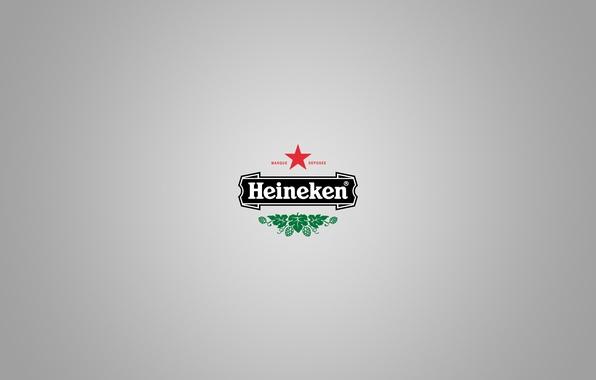 Picture style, beer, minimalism, logo, logo, heineken, minimalism, style, brand, beer, brand, 2560x1600