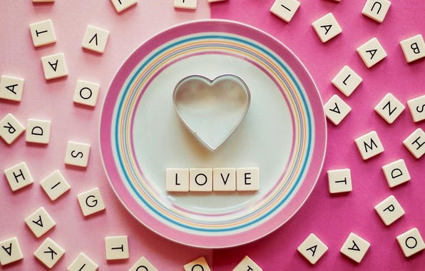 Wallpaper Love The Inscription Heart Heart Love Letters Images