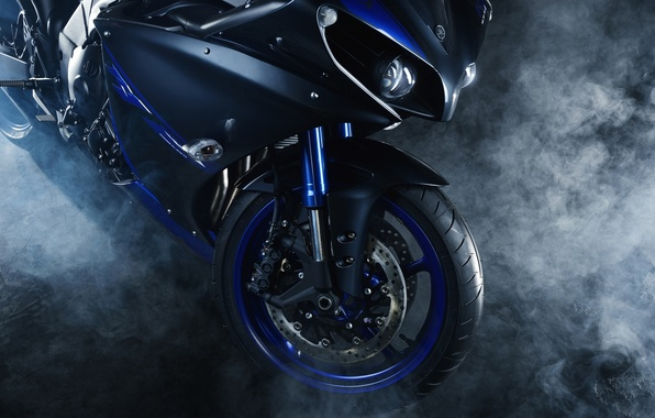 Picture motorcycle, motorbike, Yamaha YZF R1
