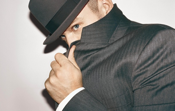 Picture eyes, hat, male, guy, actor, jacket, singer, dancer, composer, producer, Justin Timberlake, Justin Timberlake, not …