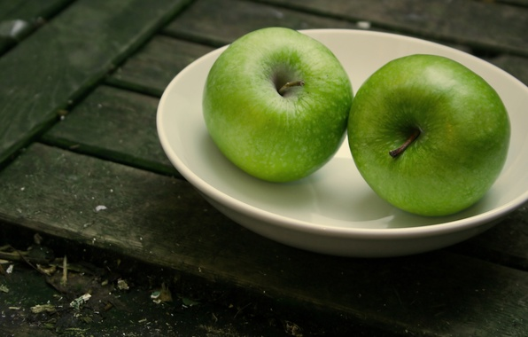 Picture macro, apples, Board, fruit, plate, plates, dishes, Board, fruit, saucer, saucers, basements, dish, store, store