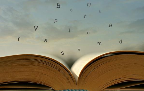 Picture letters, book, Escape