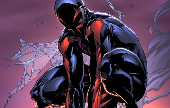 Cool Spiderman 2099 Wallpaper: Wallpaper Fiction, Hero, Costume, Marvel Comics, Spider