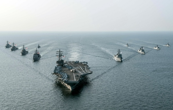 Picture weapons, army, Navy, USS Ronald Reagan (CVN 76)