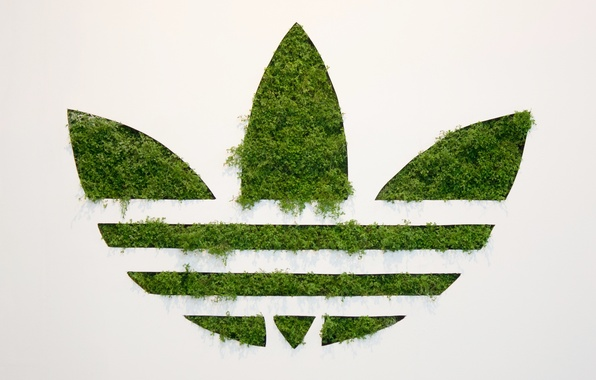 outlet store 8573f d8a27 Picture Grass, Background, Adidas, Logo, Adidas, Originals