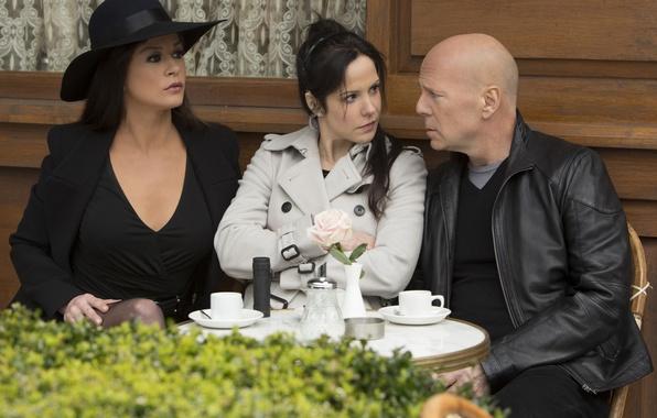 Picture Bruce Willis, Bruce Willis, Mary-Louise Parker, Mary-Louise Parker, Catherine Zeta-Jones, RED 2, Catherine Zeta-Jones, RED …