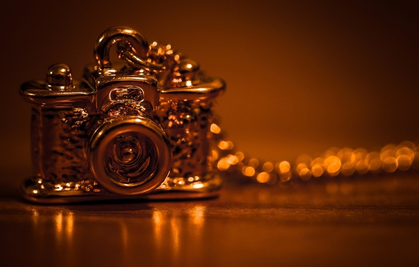 Picture style, background, widescreen, Wallpaper, the camera, pendant, wallpaper, decoration, gold, chain, different, widescreen, background, suspension, …