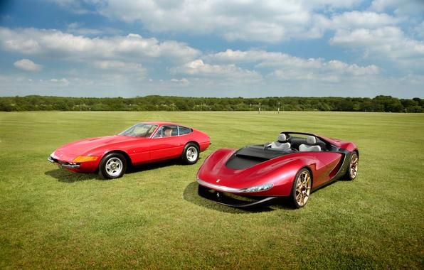 Picture Ferrari, Ferrari, 365, 1973, 2013, Daytona, Sergio, GTB/4