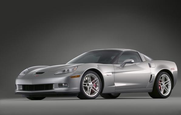 Picture Z06, Corvette, silver