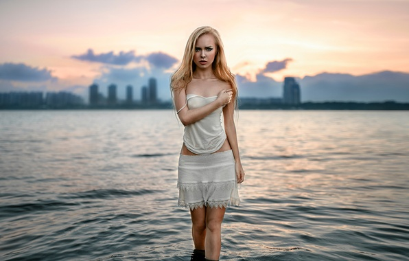 Picture the city, background, Russia, the beauty, in the water, Vika, George Chernyadev, Victoria Pichurova