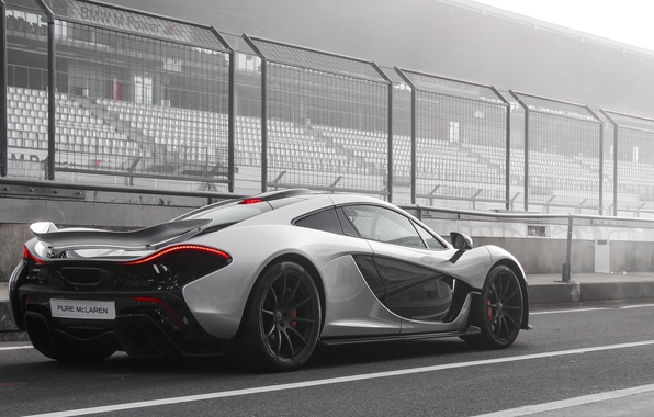 Picture McLaren, Race, Racing, Hybrid, Arrow, Silver, Track, Nurburgring, Circuit, Fast, Pure, Lap