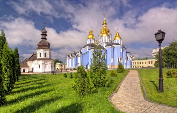 Picture temple, Ukraine, St Michael's Cathedral