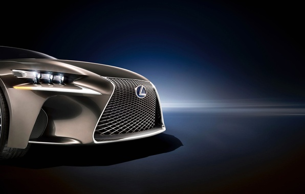 Picture lights, vector, Lexus, grille, emblem