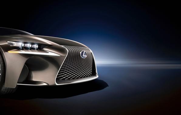 Picture lights, vector, Lexus, grille, emblem