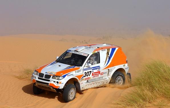 Picture Sand, BMW, Desert, Machine, Race, 307, Rally, Dakar, Dakar, SUV, Rally