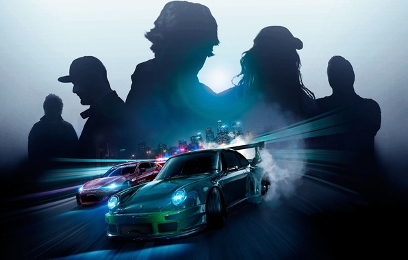 Picture Porsche, Subaru, nfs, Ken Block, BRZ, NSF, Need for Speed 2015, this autumn, RWB Porsche …