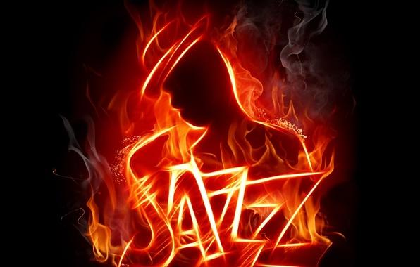 Picture smoke, Fire, jazz