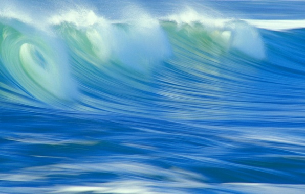 Picture sea, water, wave, treatment, surf