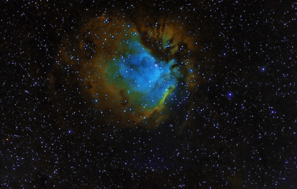Photo wallpaper SH 2-112, nebula, space