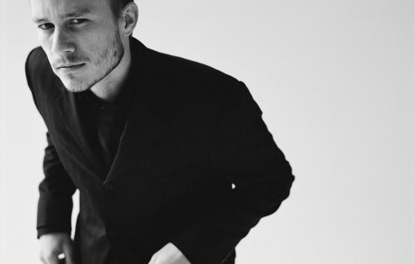 Picture smile, tilt, actor, Heath Ledger, Heath Ledger