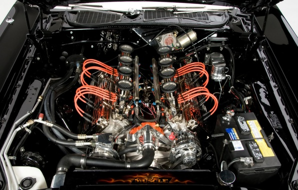Picture engine, Challenger, Dodge, 1971