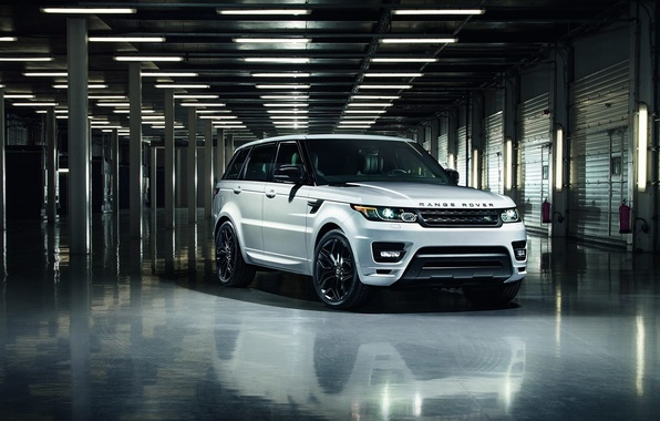 Picture car, jeep, SUV, Range Rover, Sport, Stealth Pack