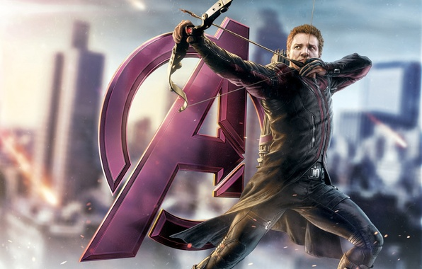 Picture the Avengers, avengers, Hawkeye, Jeremy Renner