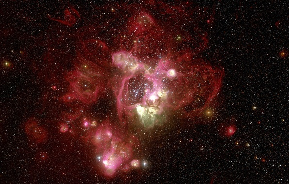 Picture nebula, Hubble, red, telescope