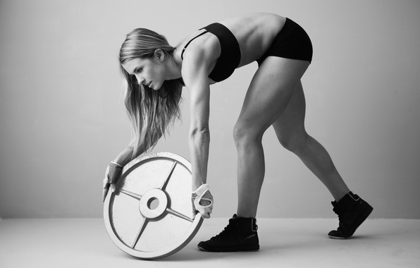 Picture fitness, physical activity, weight disk