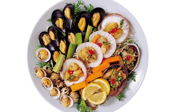 Picture photo, Lemon, Lime, Food, Seafood