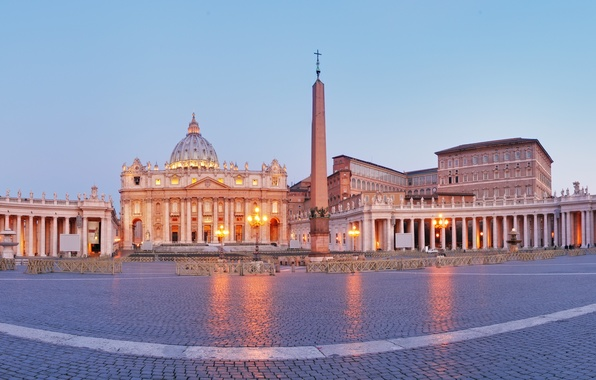 Wallpaper area rome italy panorama cathedral italy obelisk rome the vatican st peter 39 s - San pedro wallpaper ...