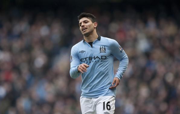 Picture Sport, Football, Argentina, Manchester City, Sergio Aguero, Sergio Leonel Aguero del Castillo, Manchester City Football …