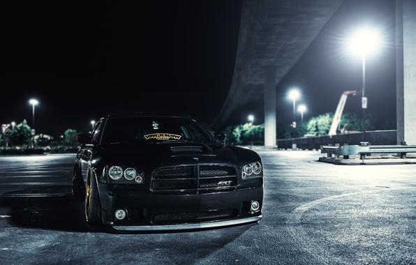 Picture black, black, Dodge, dodge, charger, srt8, the charger