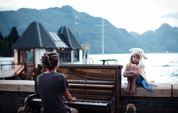 Picture Sunset, New Zealand, Sunset, Queenstown, Piano, Plan, National, Geographic, Winner