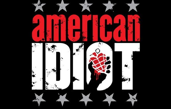Picture stars, pomegranate, logo, american, green day, idiot