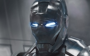 Picture look, the film, art, Iron man, Iron man