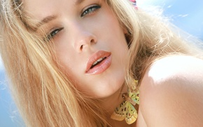 Picture eyes, look, face, hair, lips, Erica B