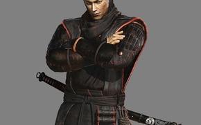 Picture wallpaper, sword, logo, game, armor, spy, katana, man, blade, dragon, ninja, hero, asian, killer, martial …