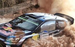 Picture Dust, Volkswagen, WRC, Rally, Polo, Ogier, VW