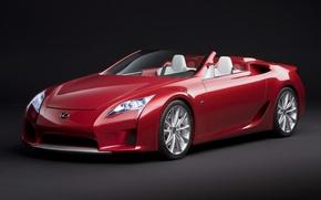 Wallpaper the concept car, Roadster, Lexus LF-A