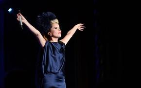Picture singer, Paloma Faith, performance, concert, Paloma Faith, British author, performer