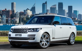 Wallpaper Vogue, land Rover, range Rover, Land Rover, Range Rover, VOG