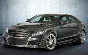 Picture wall, tuning, mercedes, carbon, mansory, Mercedes, tuning, the front, amg, tsls, AMG, cls